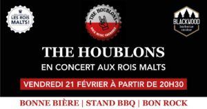 Concert The Houblons Les Rois Malts